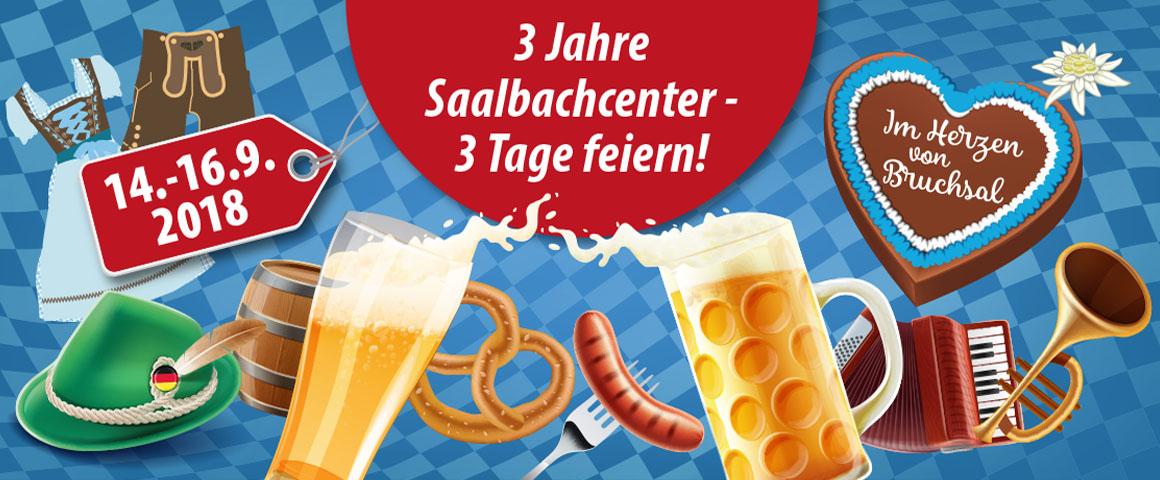 3 Jahre Saalbachcenter – 3 Tage feiern!