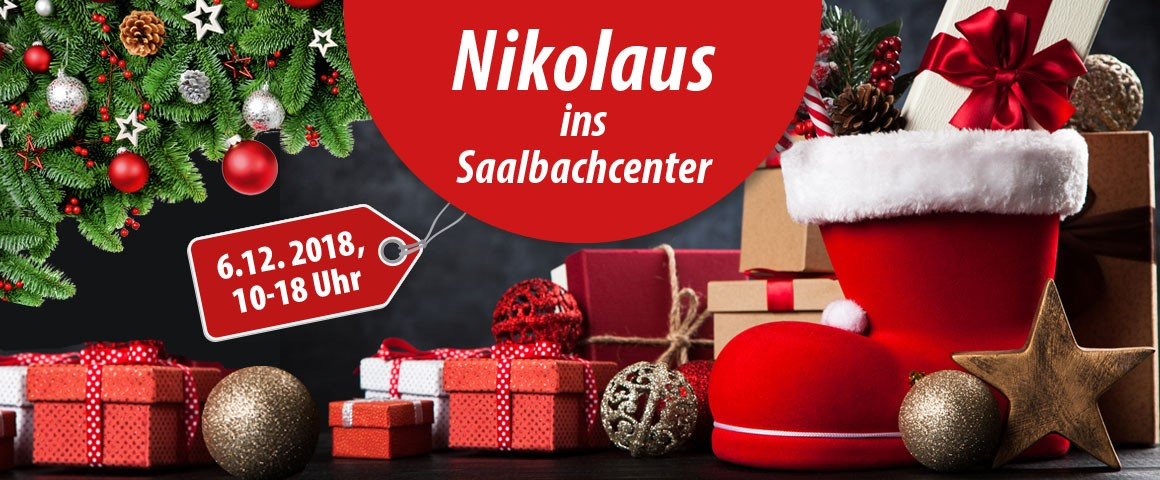 Nikolaus ins Saalbachcenter